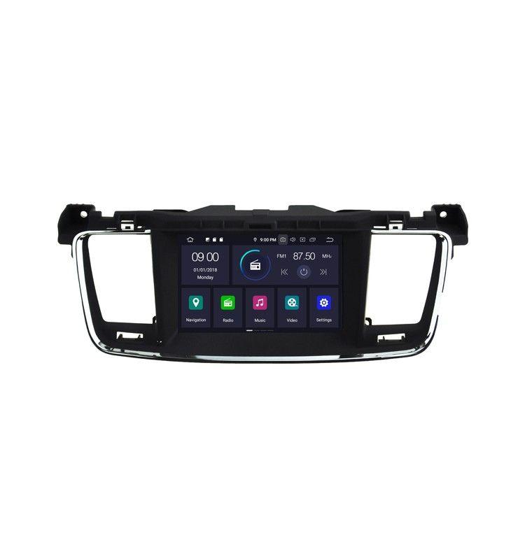 Autoradio Android 9.0 Navigation GPS, Bluetooth Peugeot 508