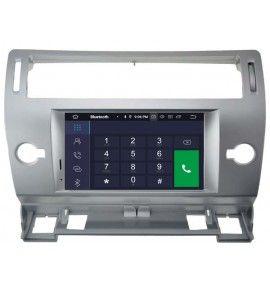Autoradio G GPS Android 9.0 CITROEN C4 de 2004 à 2011