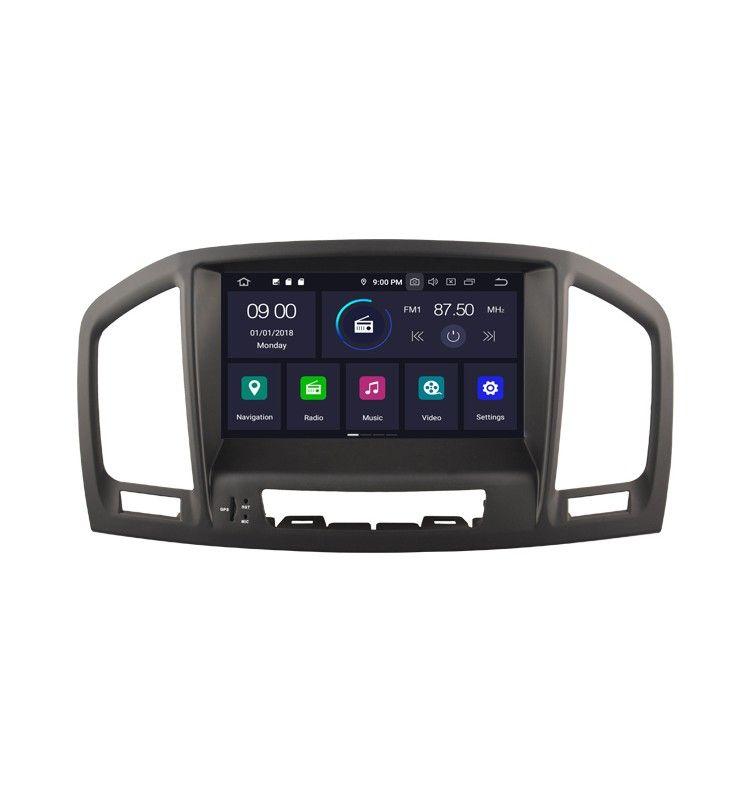 Autoradio M Android 9.0 Navigation GPS, Bluetooth et MultiMedia intégré Opel Insignia de 2008 à 2013