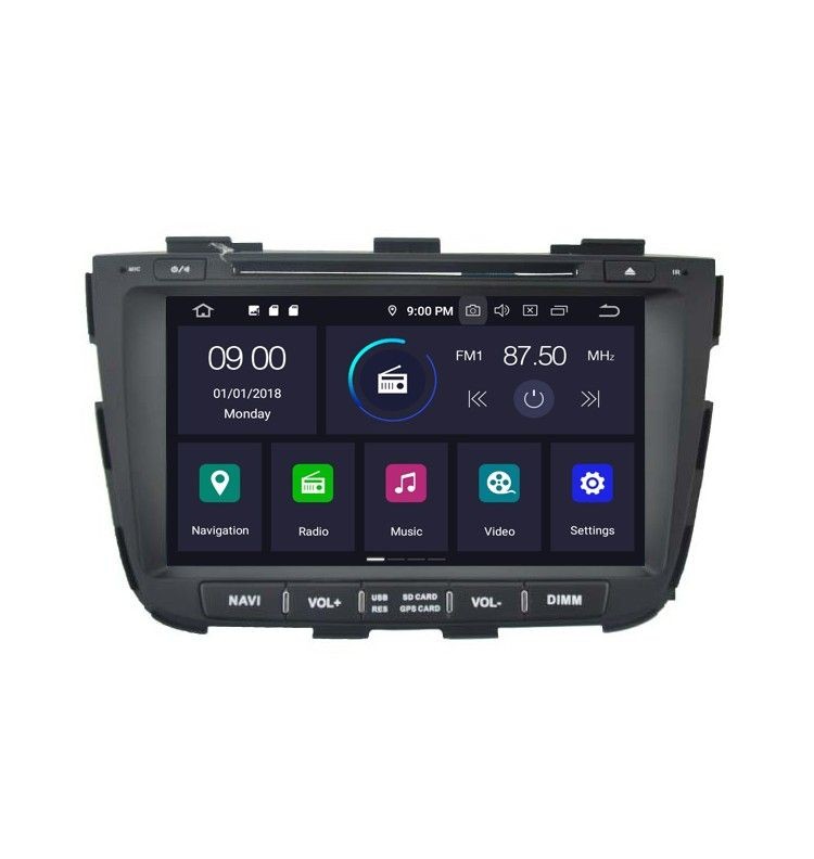 Autoradio GPS Android 10 Kia Sorento depuis 2013 - 2