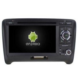 Autoradio GPS Android 9.0 Audi TT TTRS 2006 à 2014