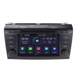 Autoradio GPS Android 9.0 Mazda 3 de 2004 à 2009
