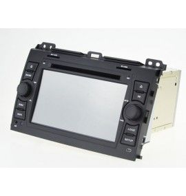 Autoradio ANDROID 9.0 GPS Bluetooth Toyota Land Cruiser / Prado 120 de 2002 à 2009