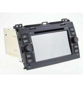 Autoradio ANDROID 9.0 GPS Bluetooth Toyota Land Cruiser / Prado 120 de 2002 à 2009