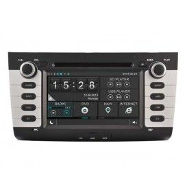Autoradio S80 GPS Bluetooth Multimédia intégré Suzuki Swift de 2004 à 2010