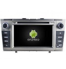 Autoradio S GPS Android 9.0 Bluetooth Multimédia intégré Toyota Avensis de 11/2008 à 2013