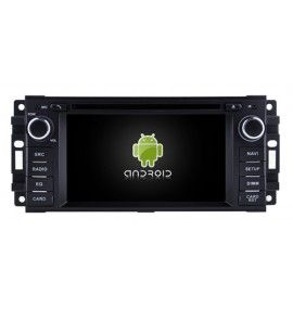 Autoradio GPS Android 9.0 Jeep Grand Cherokee, Wrangler, Dodge Journey et Nitro