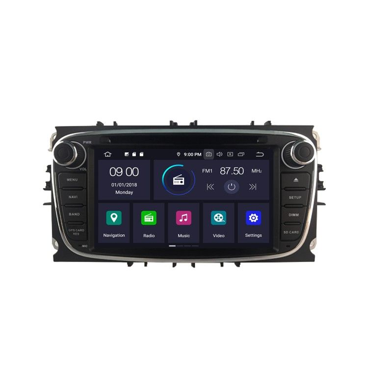 Autoradio GPS N Android 10 Ford Mondeo, Focus, S-Max, Galaxy - 1