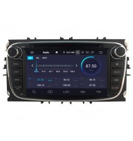 Autoradio GPS N Android 10 Ford Mondeo, Focus, S-Max, Galaxy - 2