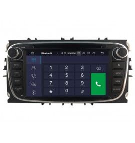 Autoradio GPS N Android 10 Ford Mondeo, Focus, S-Max, Galaxy - 3