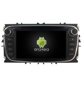 Autoradio GPS N Android 10 Ford Mondeo, Focus, S-Max, Galaxy - 4