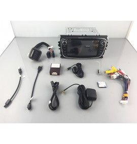 Autoradio GPS N Android 10 Ford Mondeo, Focus, S-Max, Galaxy - 10