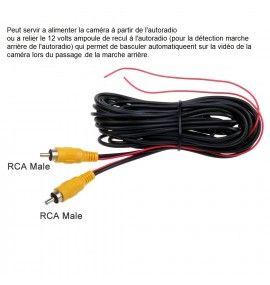 Caméra de recul CCD Honda Civic de 2012 - 4