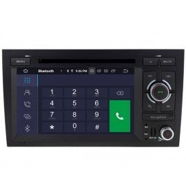 Autoradio GPS Android 10 Audi A4 S4 RS4 . - 3