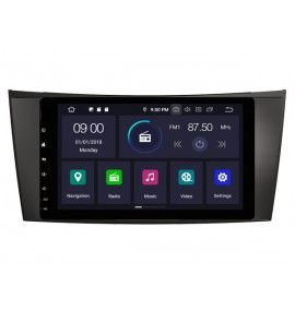 Autoradio GPS Android 9.0 Mercedes Classe E W211 et CLS W219
