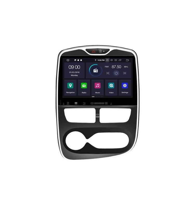 Autoradio GPS Android 10 Renault Clio 2013 à 2016 - 1