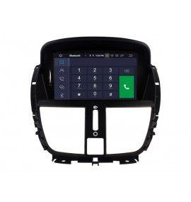 Autoradio GPS Android 9.0 206+, 207, 207 CC, 207 SW