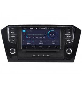 Autoradio écran 10.2 GPS Android 9.0 Volkswagen Passat B7 et CC