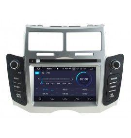 Autoradio ANDROID 9.0 GPS Bluetooth Multimédia intégré Toyota Yaris de 2005 à 2011