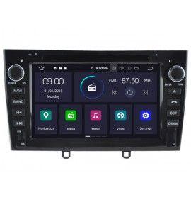 Autoradio N Android 9.0 GPS, Bluetooth Peugeot RCZ, 308, 308 CC, 308 SW
