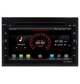 Autoradio GPS Android 10 Peugeot Partner, Expert, 307 et 207 - 1