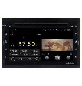 Autoradio GPS Android 10 Peugeot Partner, Expert, 307 et 207 - 6