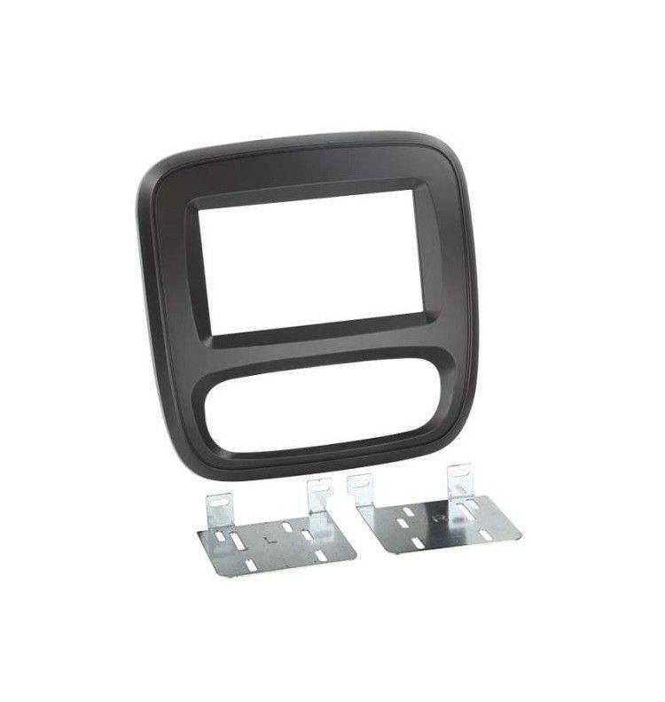 Kit intégration double din 2 din Opel Vivaro et Renaul Trafic