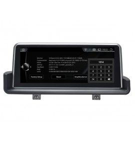 Autoradio GPS Android 9.0  BMW série 3 E90 Sans écran GPS d'origine