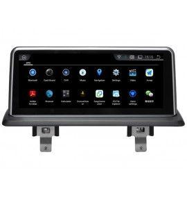 Autoradio GPS Android 9.0  BMW série 1 avec GPS d'origine