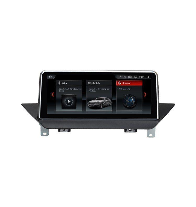 Autoradio GPS Android 9.0  BMW X1 Sans écran GPS d'origine
