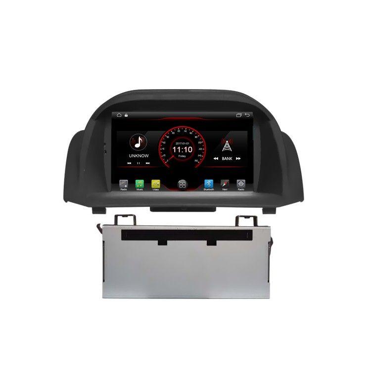 Autoradio Android 10 GPS Bluetooth Ford Fiesta de 2008 à 2012