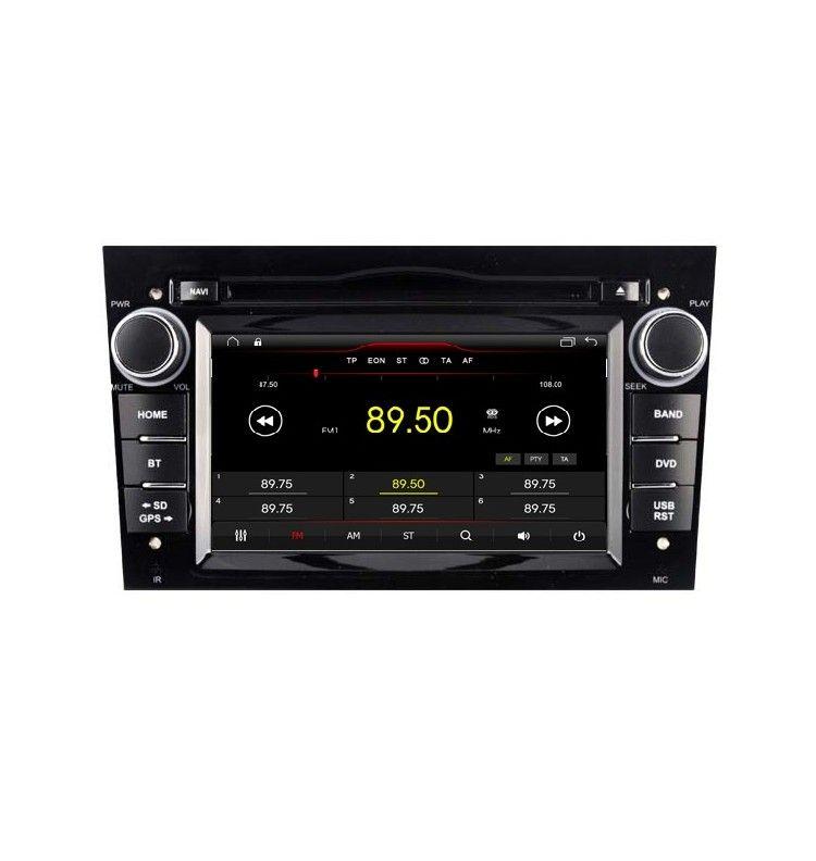 Autoradio N Android 10 GPS Opel Vauxhall Astra, Zafira, Corsa, Antara, Meriva, Vectra, Vivaro - 1