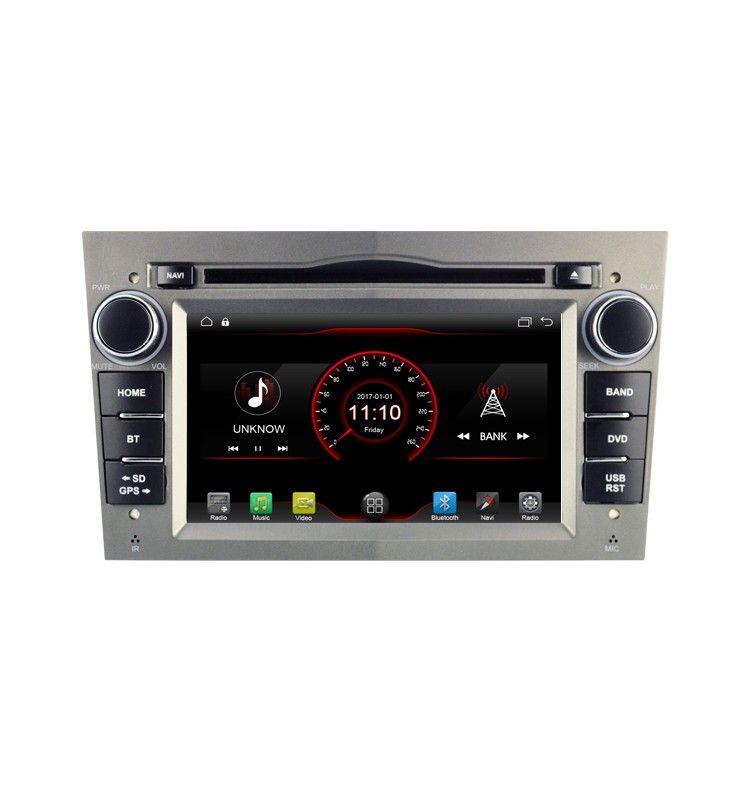 Autoradio G Android 10 GPS Opel Vauxhall Astra, Zafira, Corsa, Antara, Meriva, Vectra, Vivaro - 1