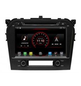 Autoradio Android 10 GPS Bluetooth Suzuki Grand Vitara depuis 2015