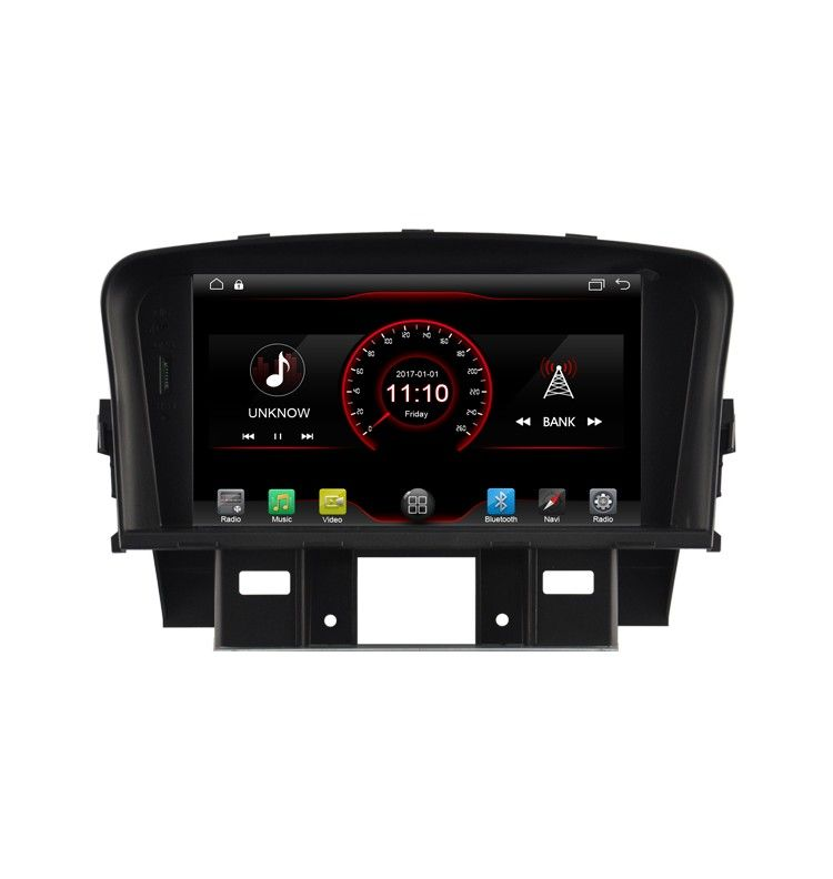 Autoradio Android 10 GPS Bluetooth CHEVROLET Cruze 2008 à 2013