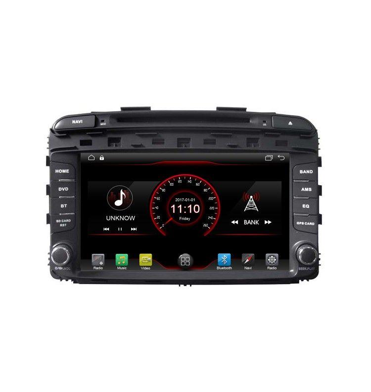 Autoradio GPS Android 10 Bluetooth Kia Sorento depuis 2015 - 1