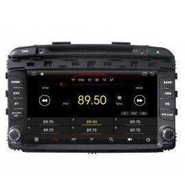 Autoradio GPS Android 10 Bluetooth Kia Sorento depuis 2015 - 2