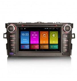 Autoradio GPS Android 9 Toyota Auris de 2008 à 2012
