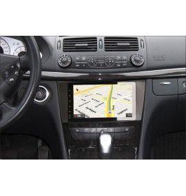 Autoradio GPS Bluetooth Android 9 Mercedes Classe E W211 et CLS W219