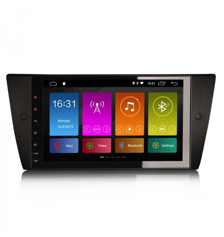 Autoradio GPS Android 10 BMW Série 3 E90 E91 E92 E93 2005 à 2012 - 1