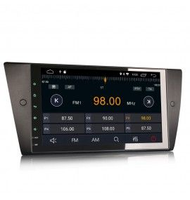 Autoradio GPS Android 10 BMW Série 3 E90 E91 E92 E93 2005 à 2012 - 4