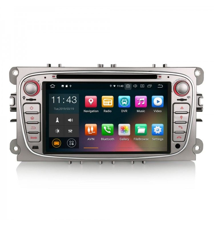 Autoradio GPS G Android 9 Ford Mondeo, Focus, S-Max, Galaxy