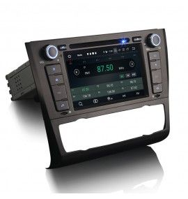Autoradio GPS Android BMW Série 1 E81 E82 E87 E88
