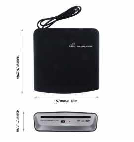 Lecteur CD DVD portable pour autoradio sous Android (USB)