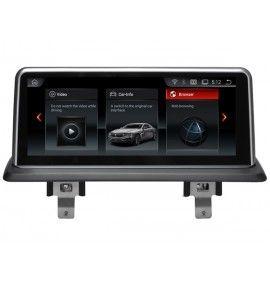 Autoradio GPS Android 10 BMW série 1 Sans écran GPS d'origine - 6