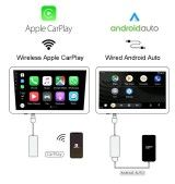 Iphone Apple CARPLAY & Android AUTO pour autoradio (Dongle USB ) sans fil