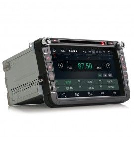 Autoradio GPS Bluetooth Android 9 Volkswagen Golf 5 6, passat, Beetle, Eos Touran T5, Tiguan, Polo, Caddy