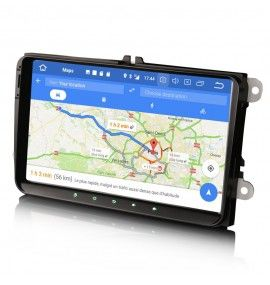 "Autoradio 9"" GPS Android 9 Volkswagen Golf 5 6, passat, Beetle, Eos Touran T5, Tiguan, Polo, Caddy"