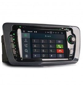 Autoradio GPS Android 10 Seat Ibiza depuis 2008 - 2