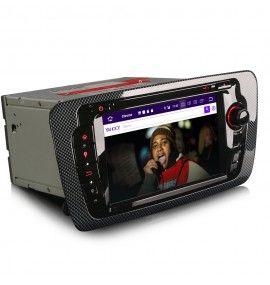 Autoradio GPS Android 10 Seat Ibiza depuis 2008 - 3
